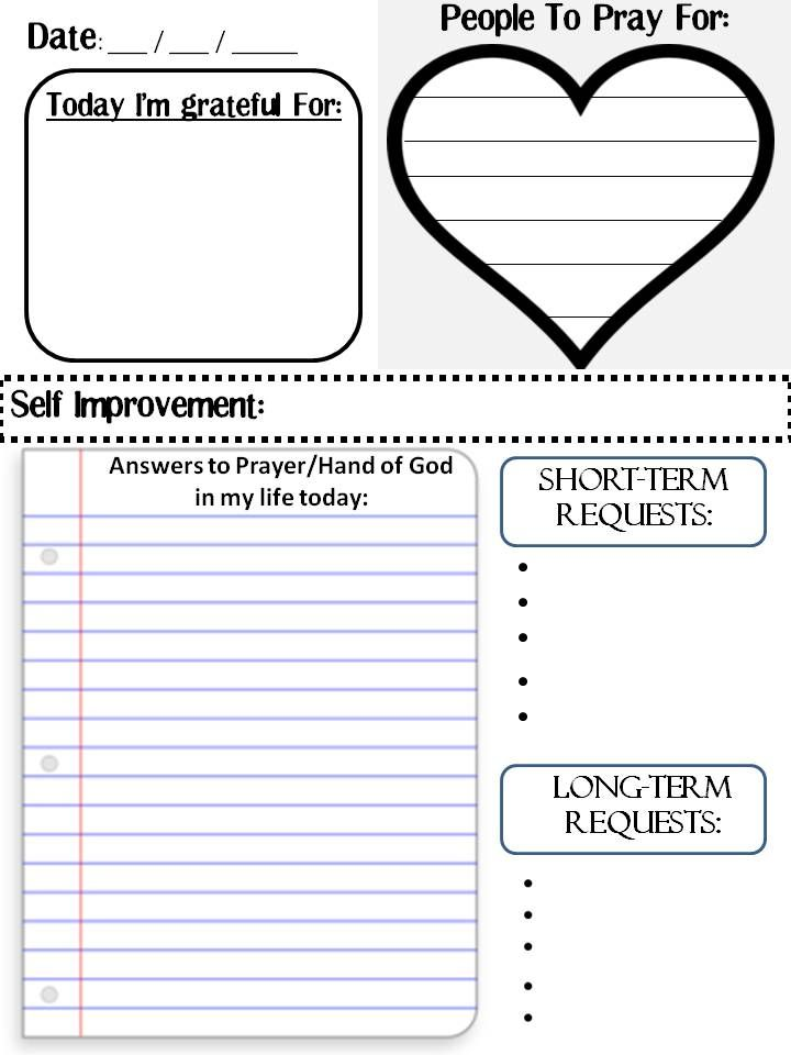 5 Images of Bible Study Journal Template Printable