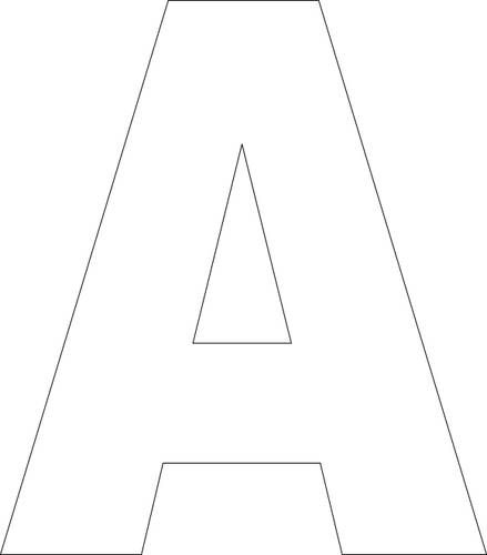 Printable Alphabet Letter Templates
