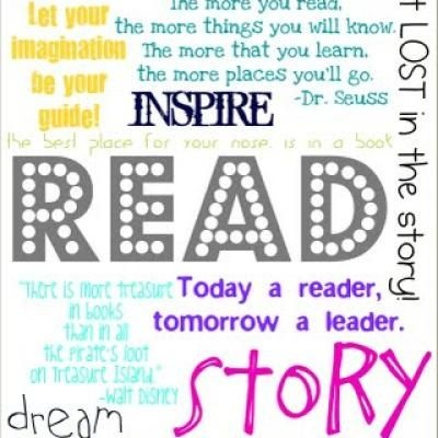 7 Images of Free Printable Reading Posters For Libraries