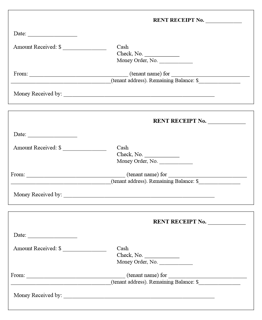 8 Best Images of Printable Blank Receipt Form Template - Free Printable Receipt Forms, Free ...
