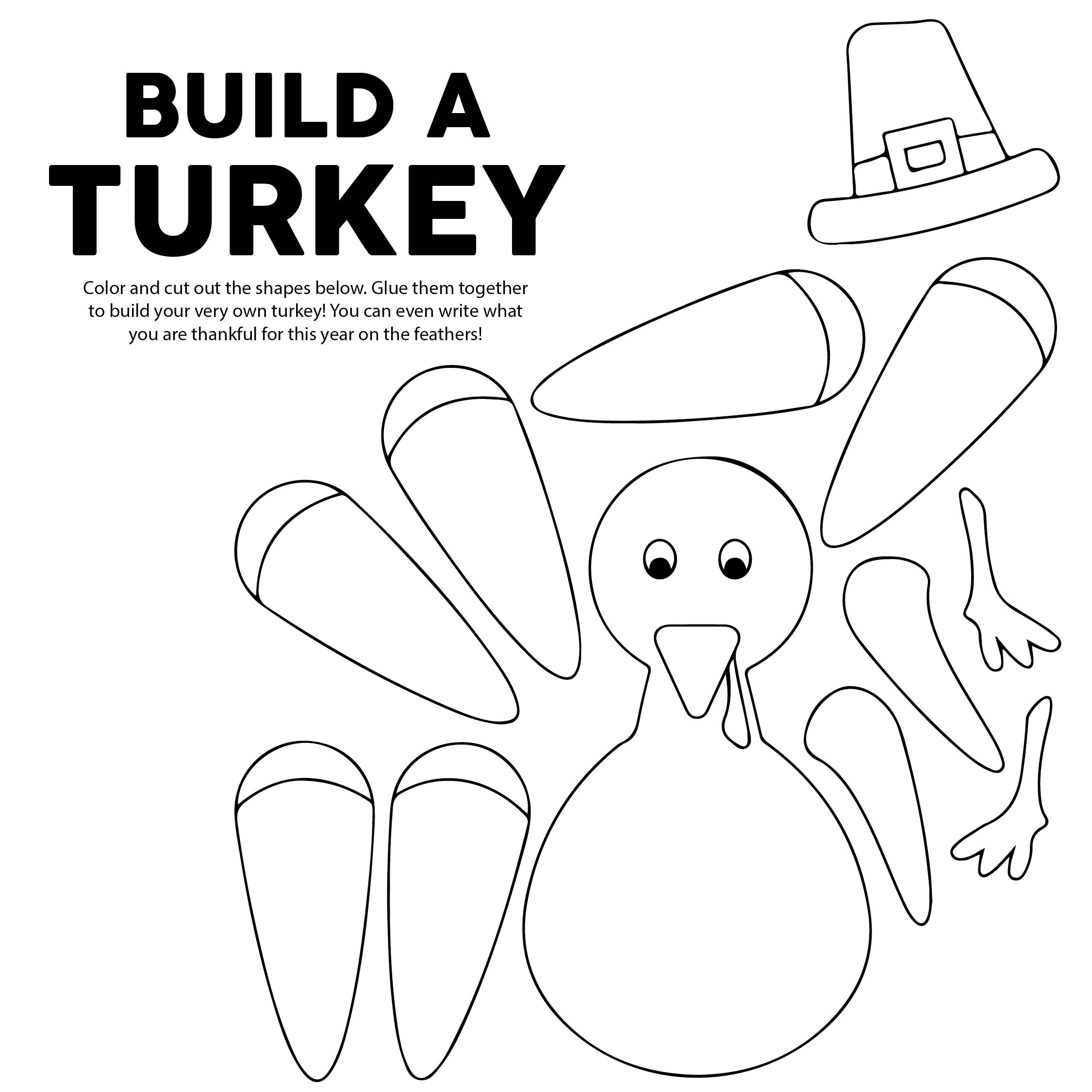 Printable Thanksgiving Activities for Kids