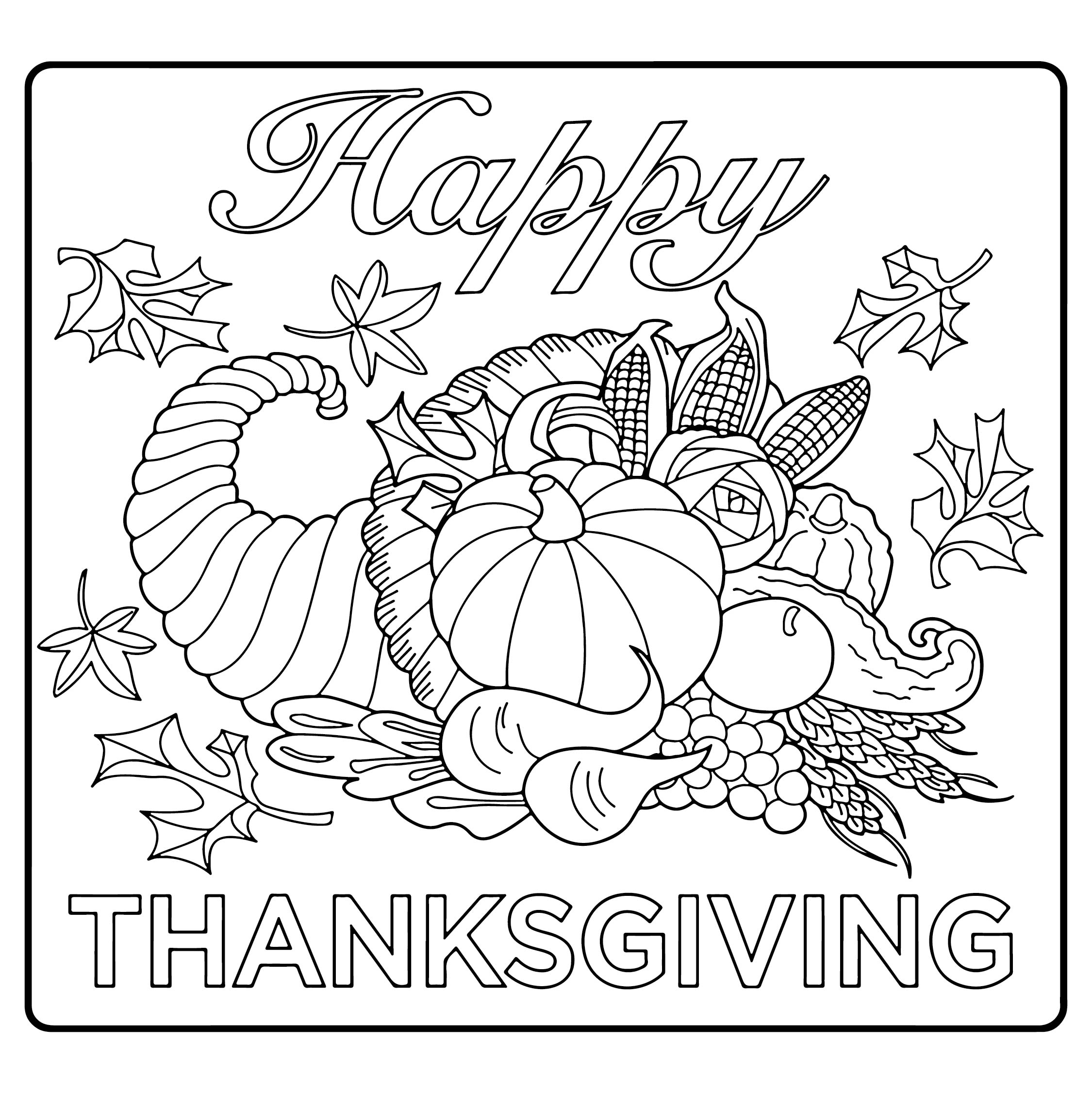 Free Printable Thanksgiving Activities
