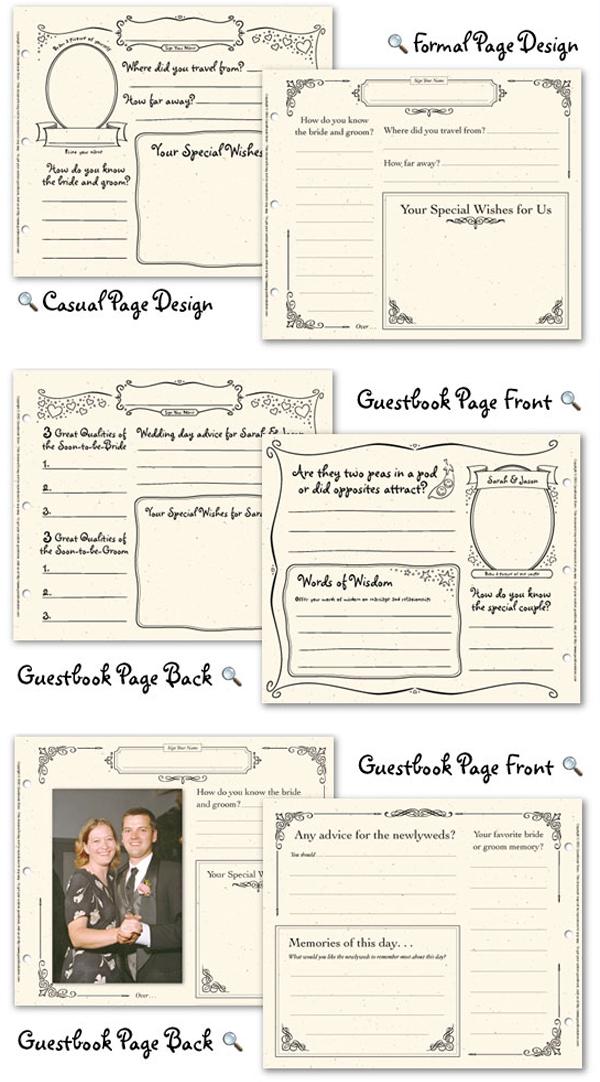 4 best images of wedding guest book printable pages free printable wedding guest book pages. Black Bedroom Furniture Sets. Home Design Ideas
