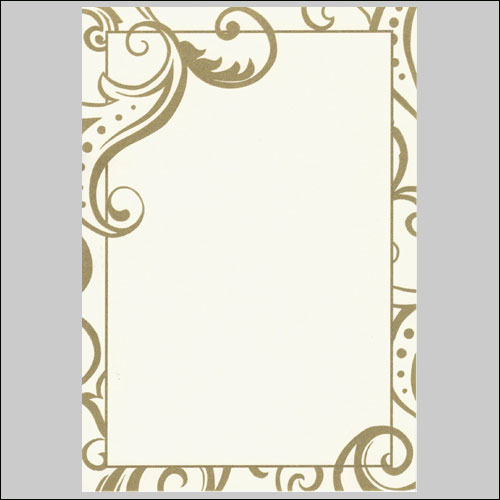7 best images of free printable wedding borders gold