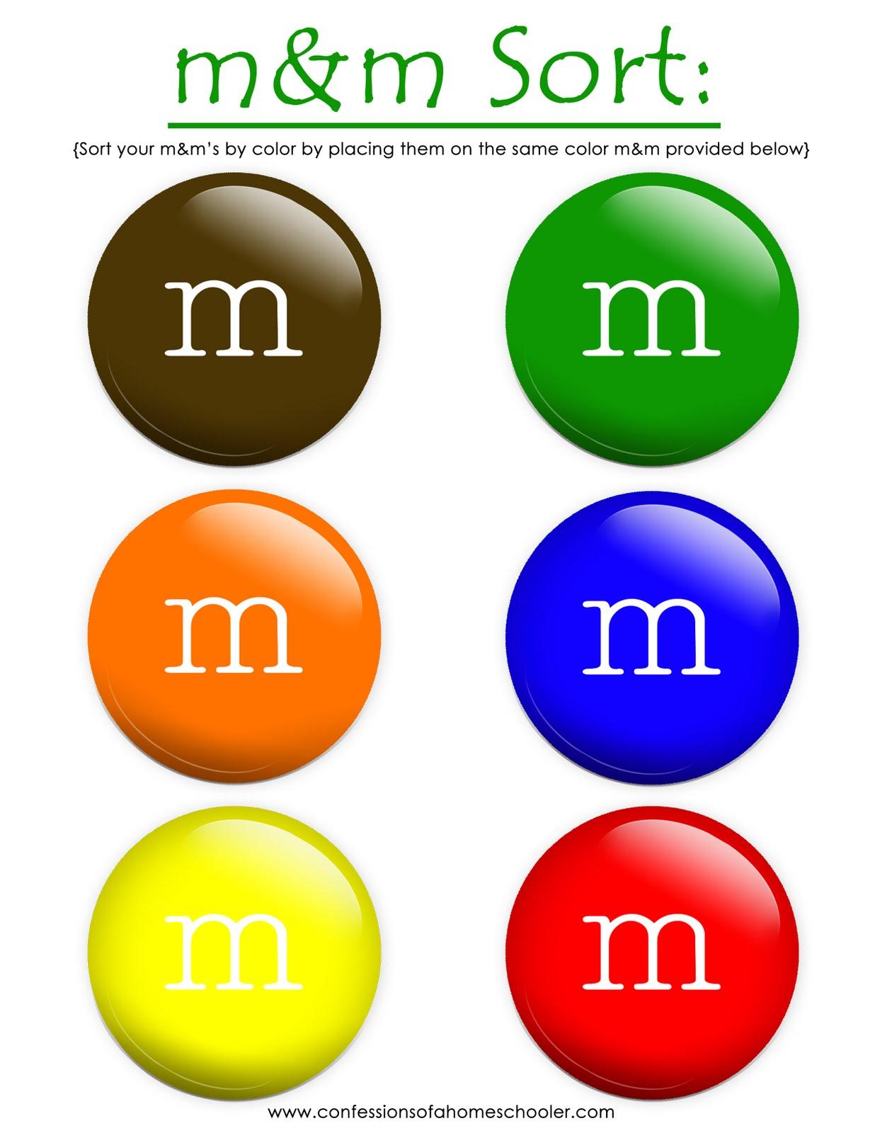 Math Sorting Worksheets math printable worksheets for 1st grade – Mandm Fractions Worksheet