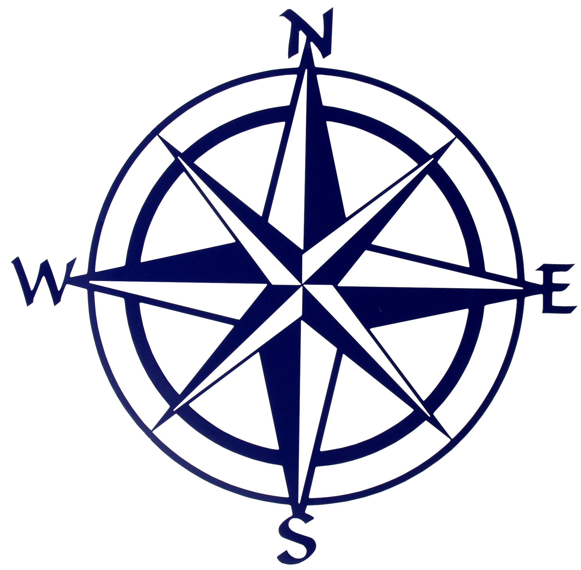 5 Images of Compass Rose Printable