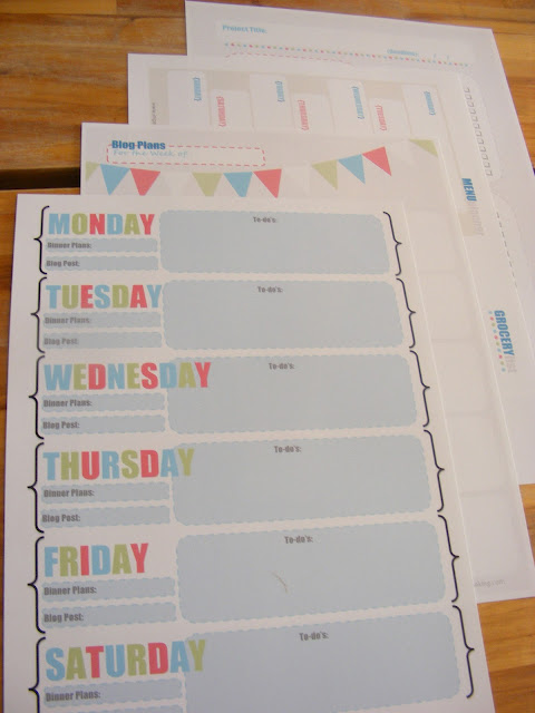 6 Images of Organize Your Life Free Printables