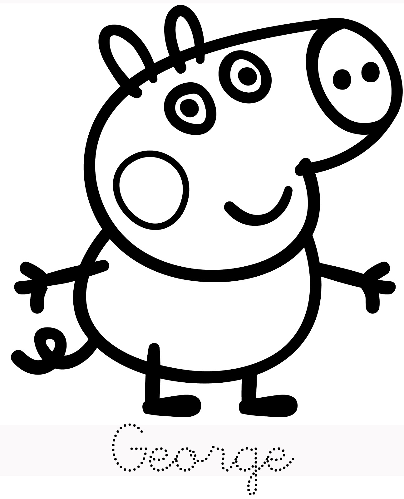 Pa paint pages to color online - Free Coloring Pages Online Pa Painting Pages Online Free Peppa Pig George Coloring Page