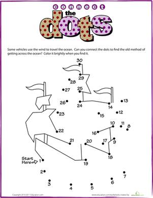 Dot Math Worksheets