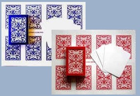 5 Images of Playing Card Sheets Printable