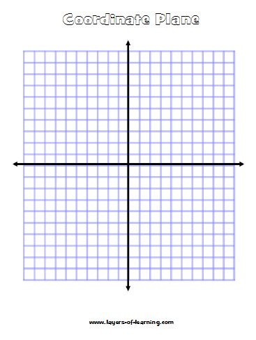 7 Images of Free Printable Coordinate Plane
