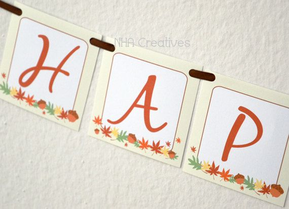 8 Images of Happy Fall Y'all Printable Banner