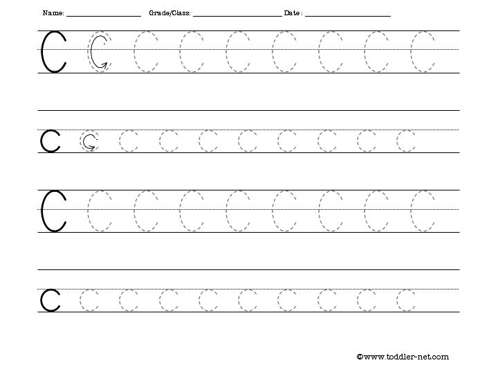 Trace Alphabet Worksheets Free - Templates and Worksheets