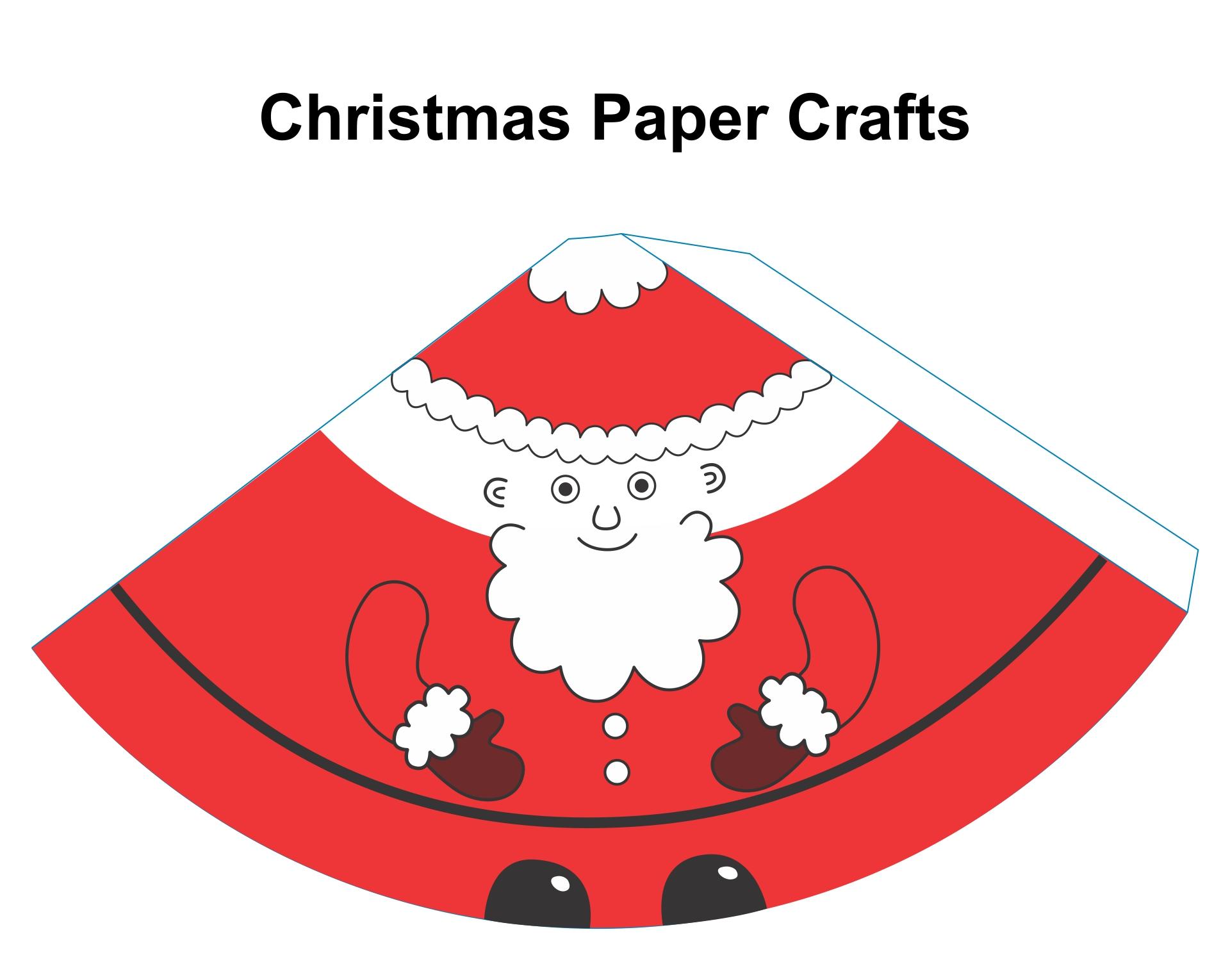 Printable Santa Claus Papercraft