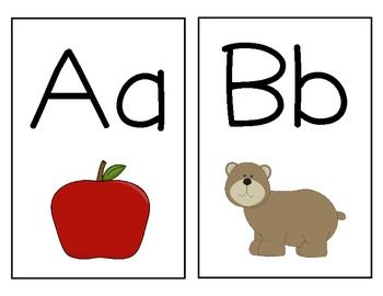 7 Images of Printable Classroom Alphabet Letters For Wall