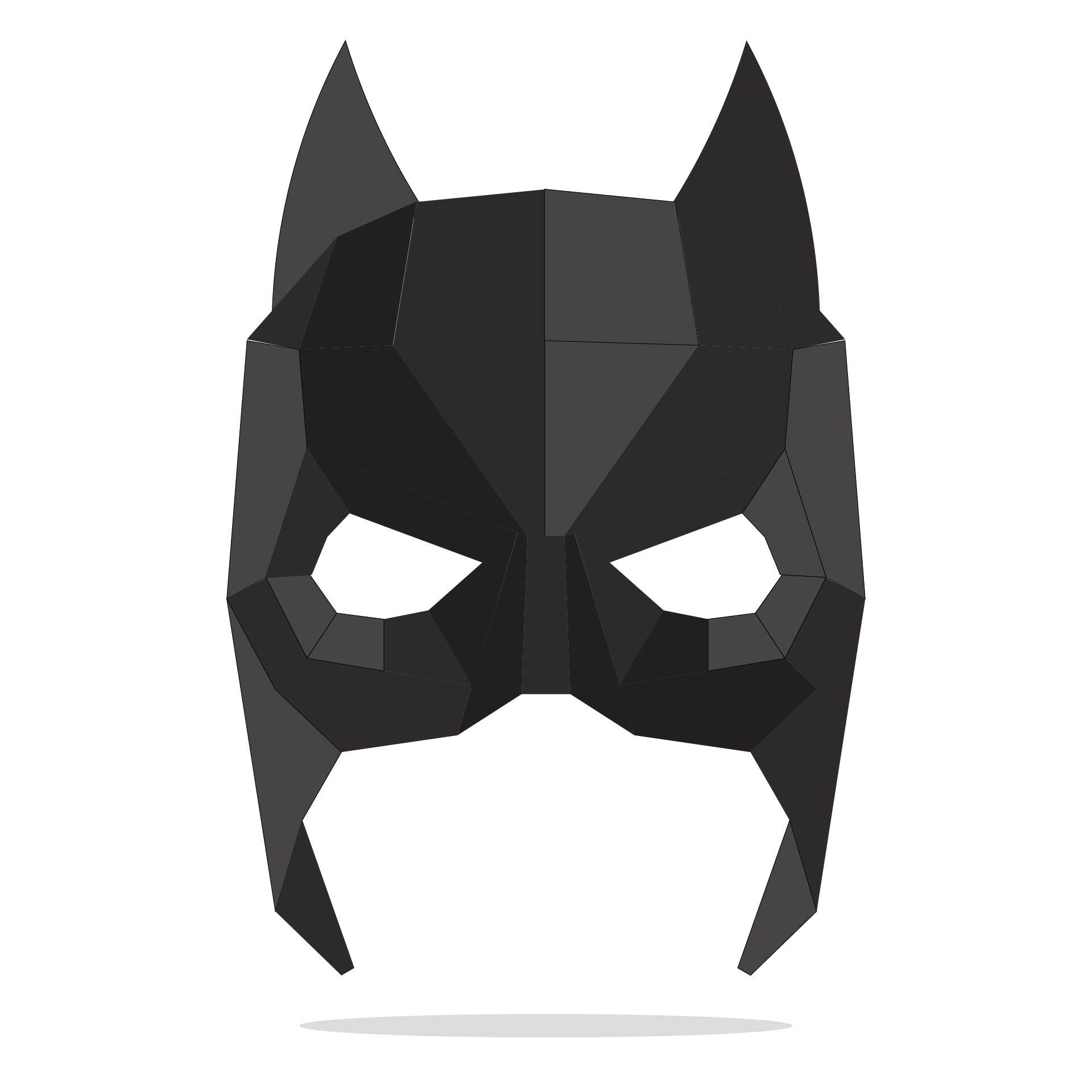 Super Hero Masks Printable