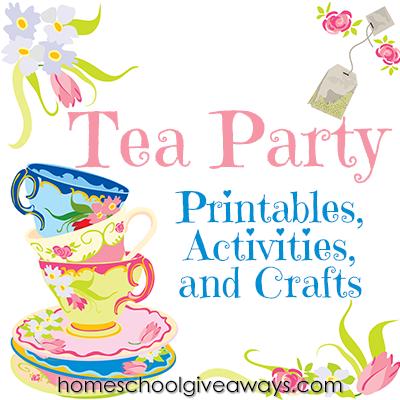 7 Images of Tea Etiquette Printable