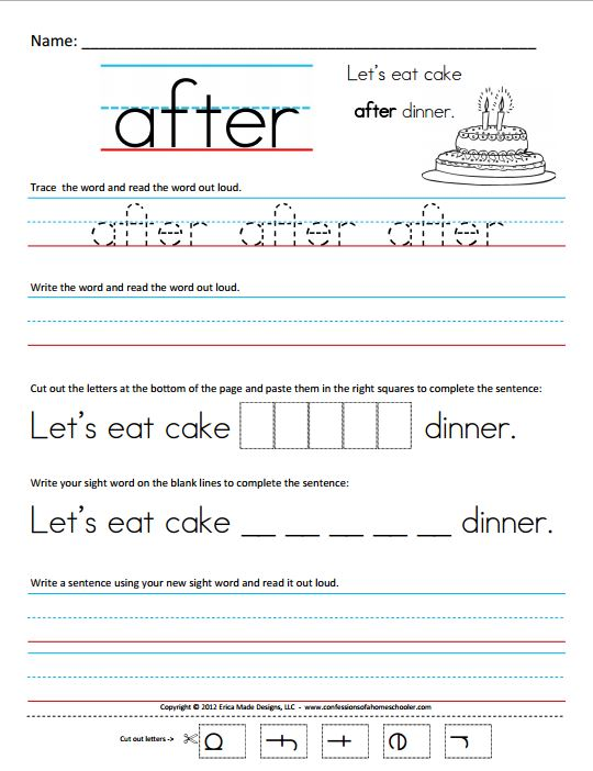 Printables First Grade Sight Words Worksheet sight word worksheets 1st grade free intrepidpath 6 best images of first words printable worksheets