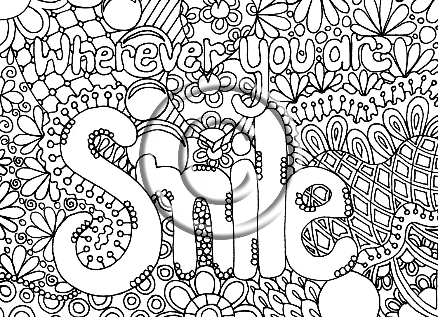 8 Best Images Of Free Printable Coloring Pages Doodle Art Printable Doodle Coloring Pages Heart Doodle Art Coloring Pages And Let S Doodle Coloring Pages Printablee Com
