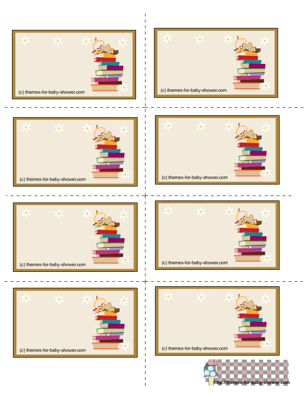 free printable baby book templates - 7 best images of book labels printable free printable
