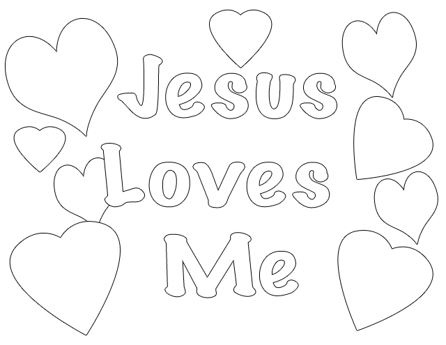 6 Images of God Is Love Bible Coloring Pages Printable