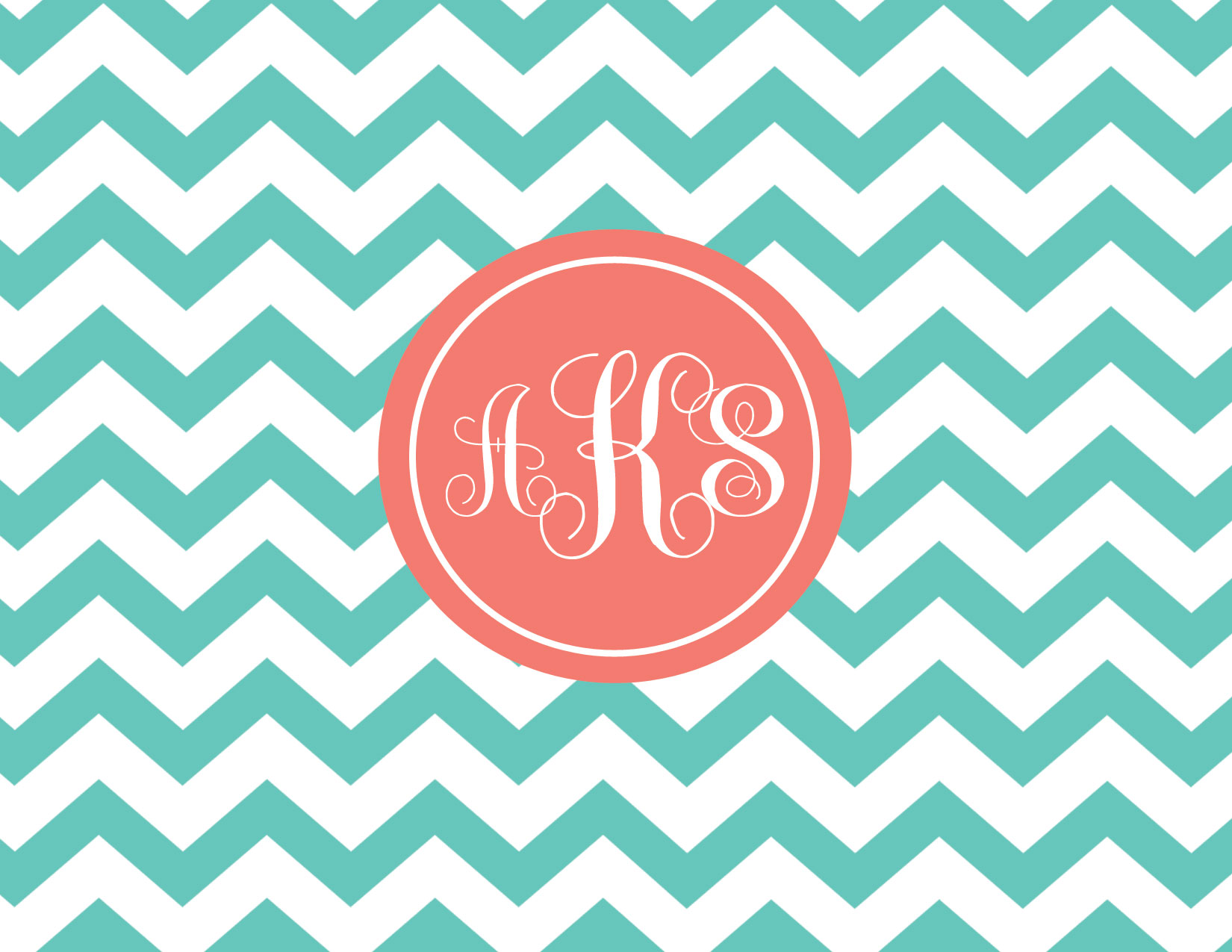 gallery for monogram a chevron