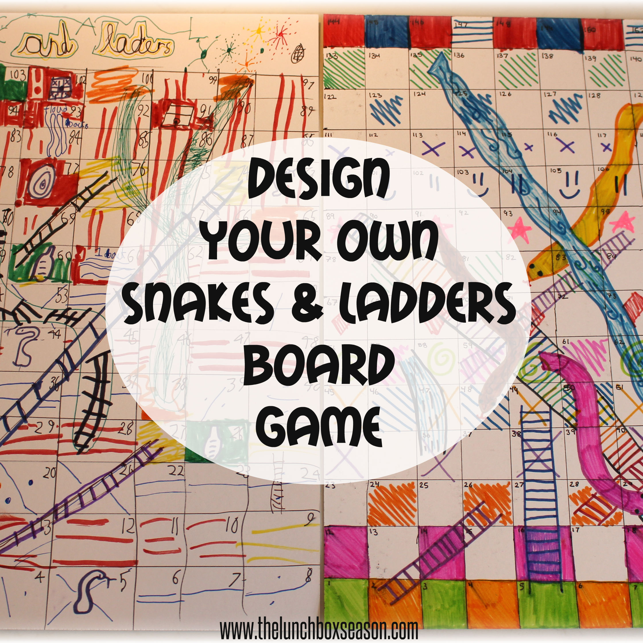 6 Images of Printable Chutes And Ladders Board