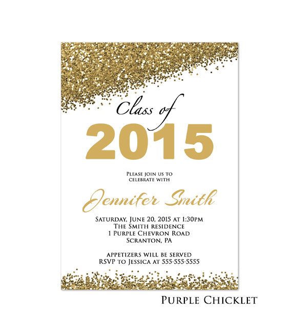 Class of 2016 Graduation Party Invitation