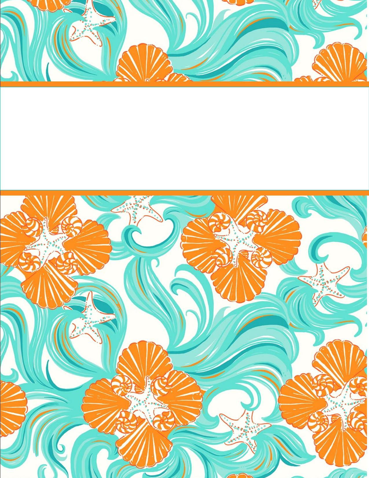 10 Images of Free Printable Binder Covers For School