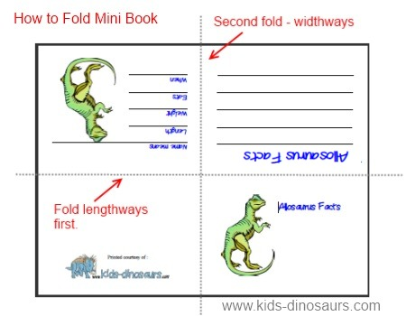 4 Images of Printable Dinosaur Book