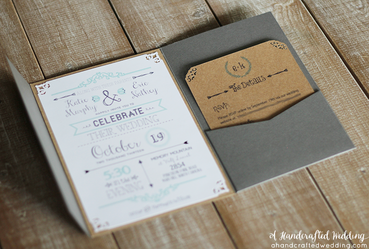 8 Images of Rustic Wedding Invitations Free Printable