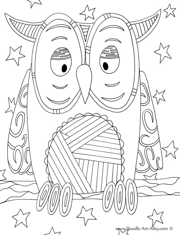 - 8 Best Images Of Free Printable Coloring Pages Doodle Art - Printable Doodle  Coloring Pages, Heart Doodle Art Coloring Pages And Let's Doodle Coloring  Pages / Printablee.com