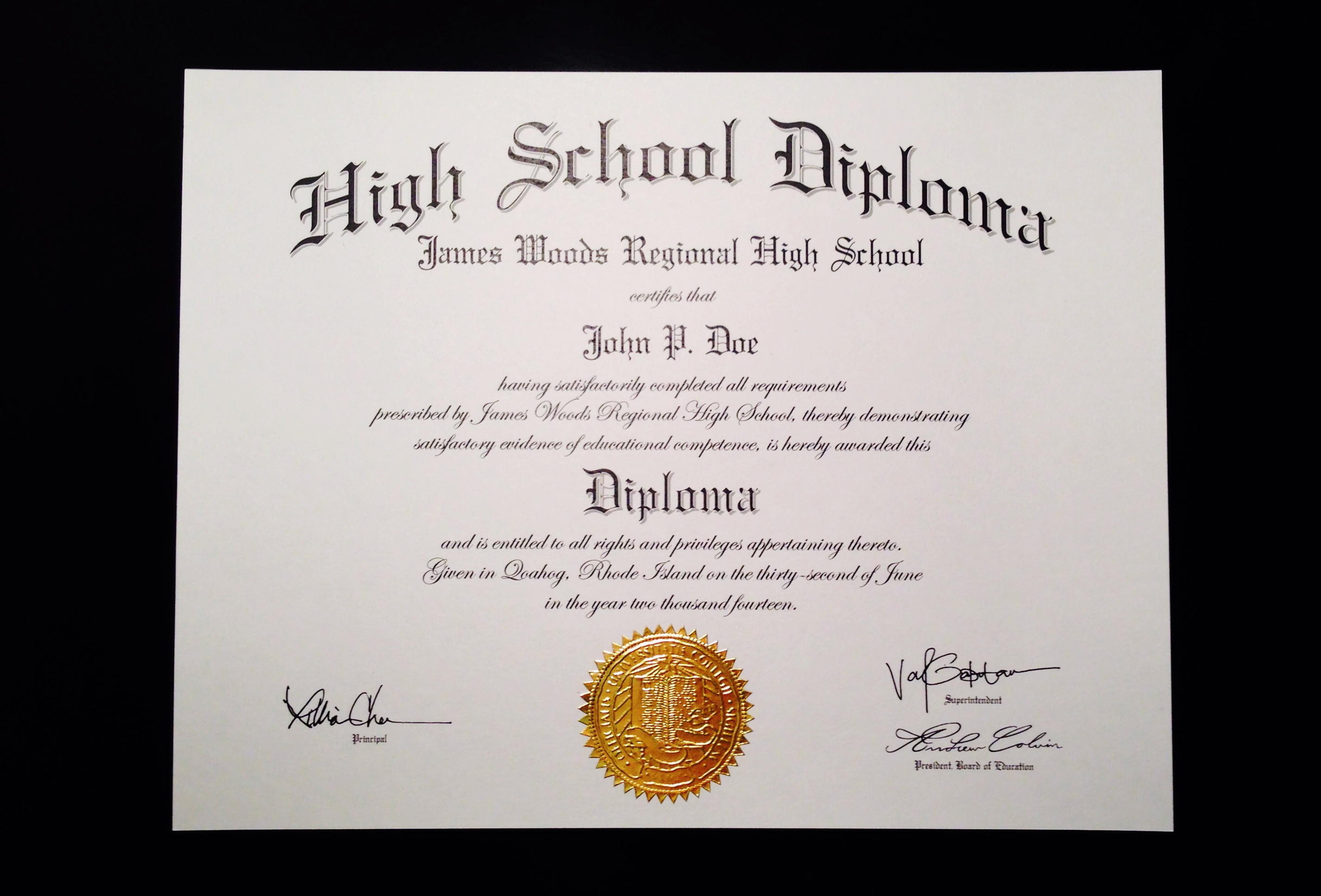 7 best images of free printable blank diploma template for Fake college degree template