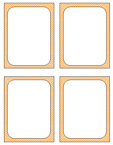 6 Images of Ten Free Printable Flash Cards Template Blank Spaces