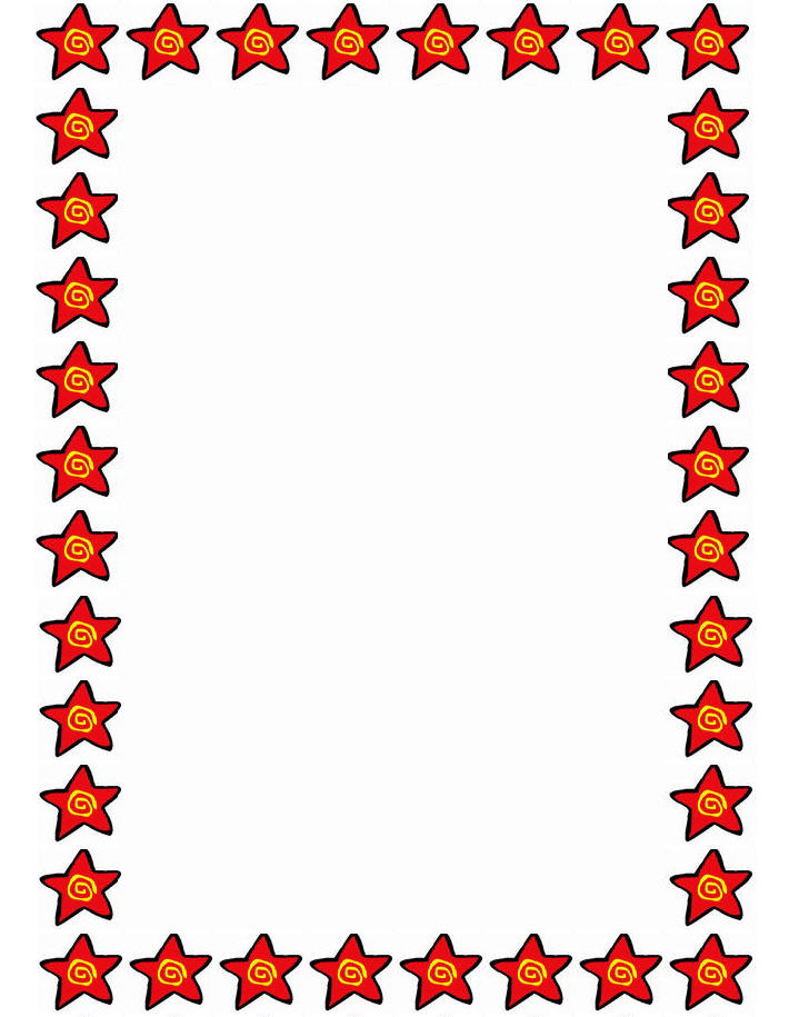 Best images of free printable star border gold