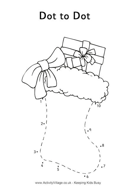 5 Images of Christmas Dot To Dot Printables