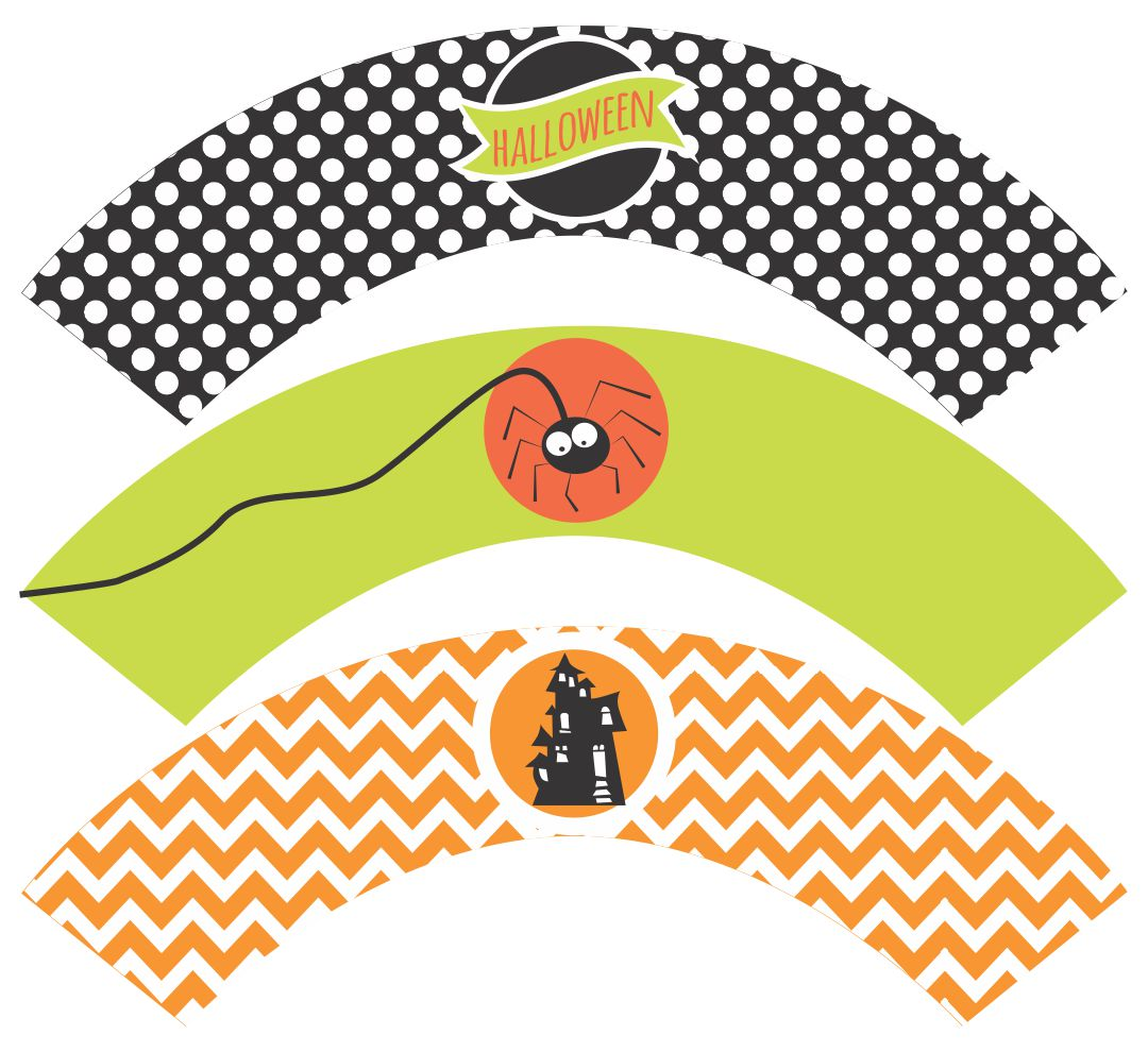 Printable Halloween Mini Candy Bar Wrappers