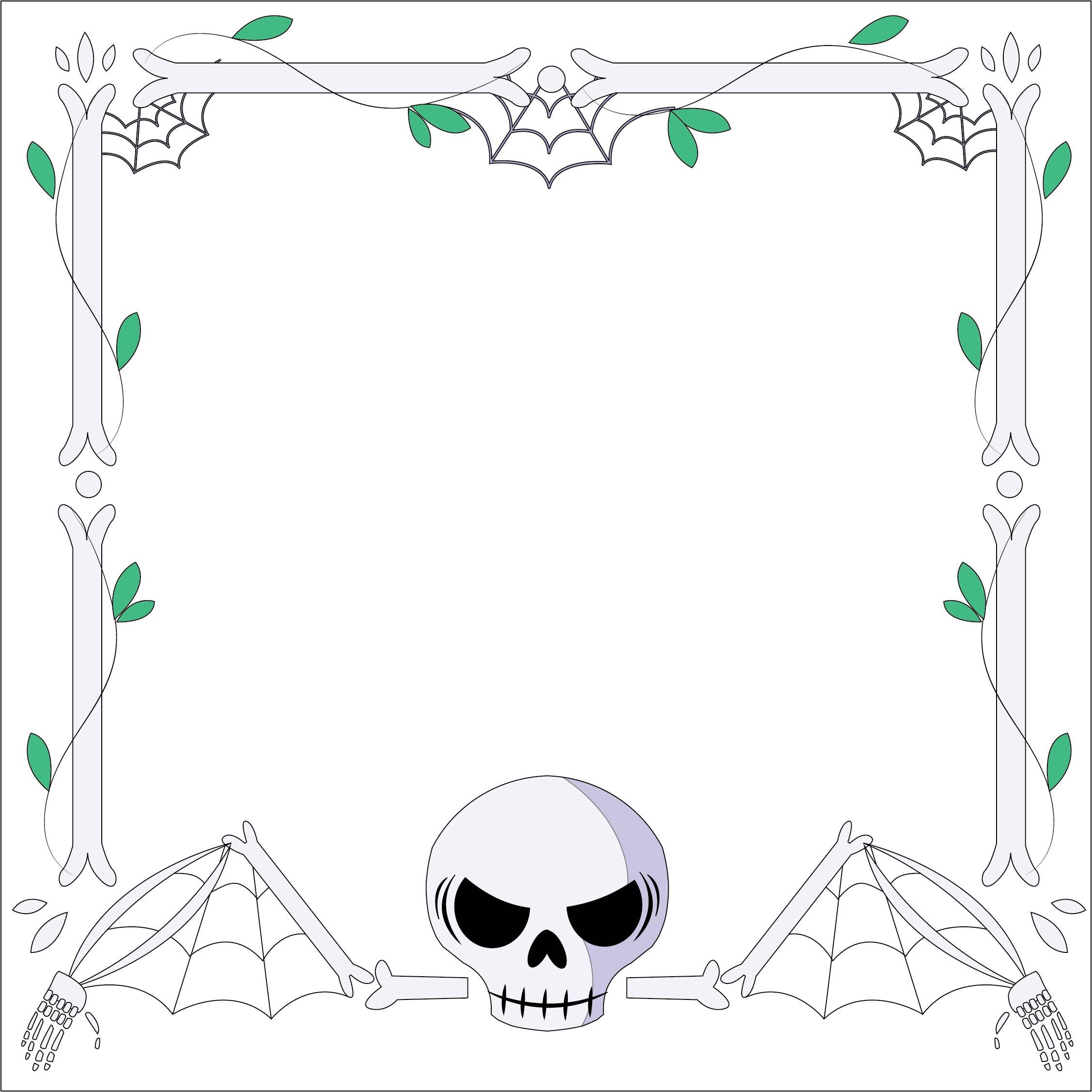 Printable Halloween Stationary