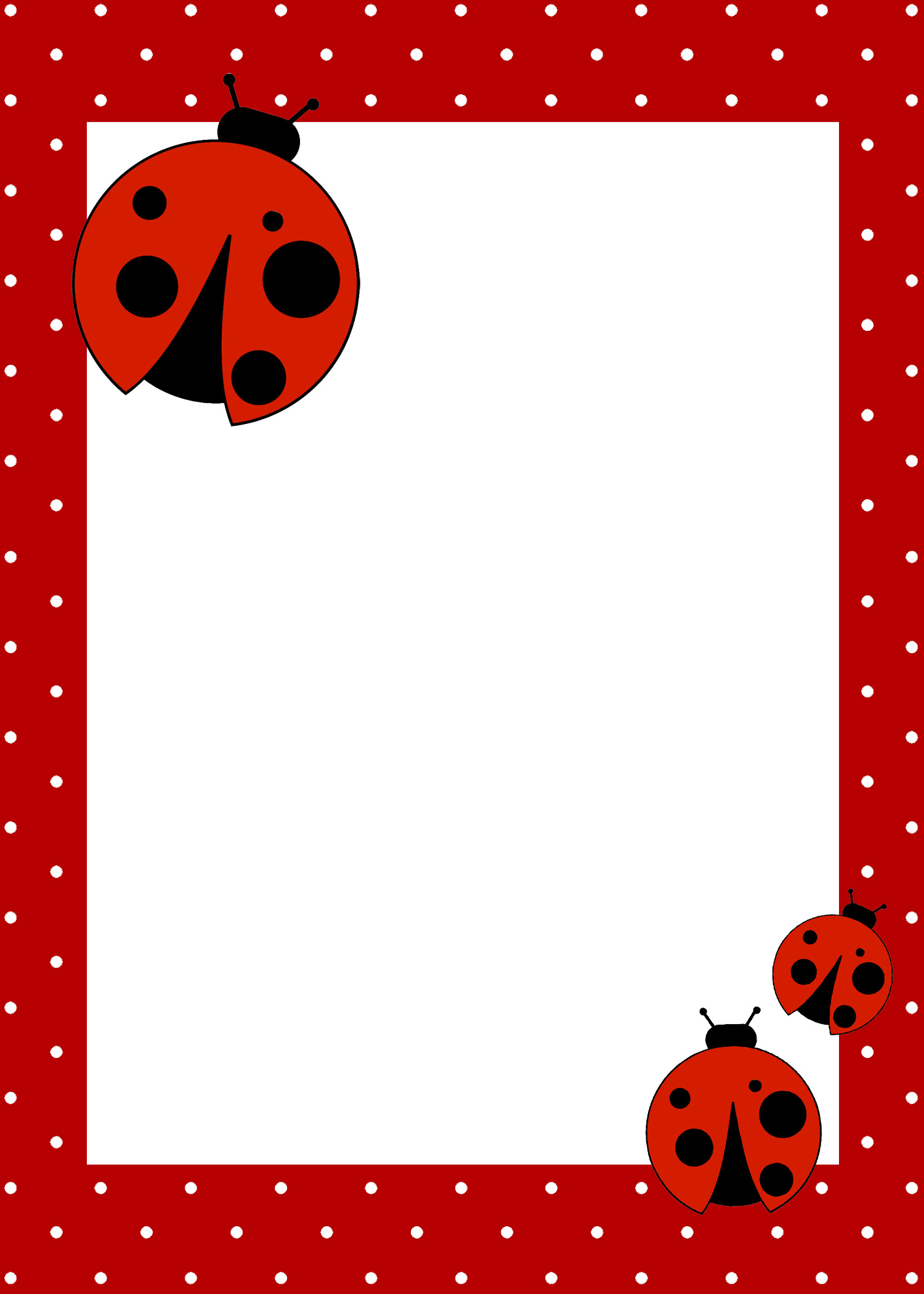 Free Printable Ladybug Invitation Templates
