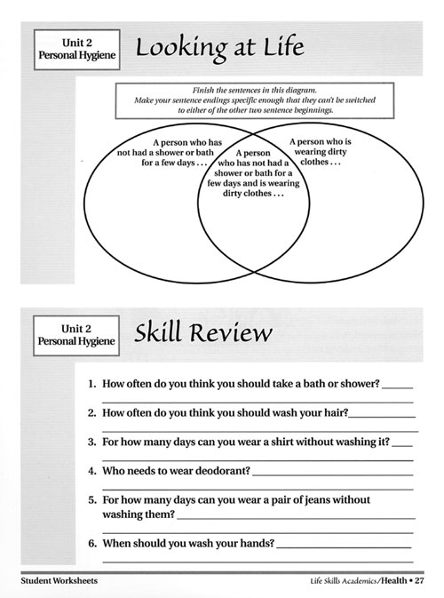 Agile image throughout life skills printable worksheets for adults