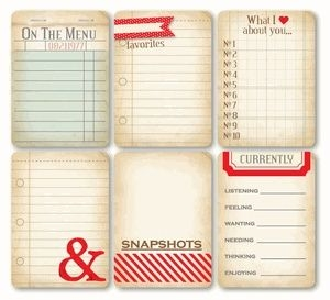 Free Printable Project Life Journaling Cards