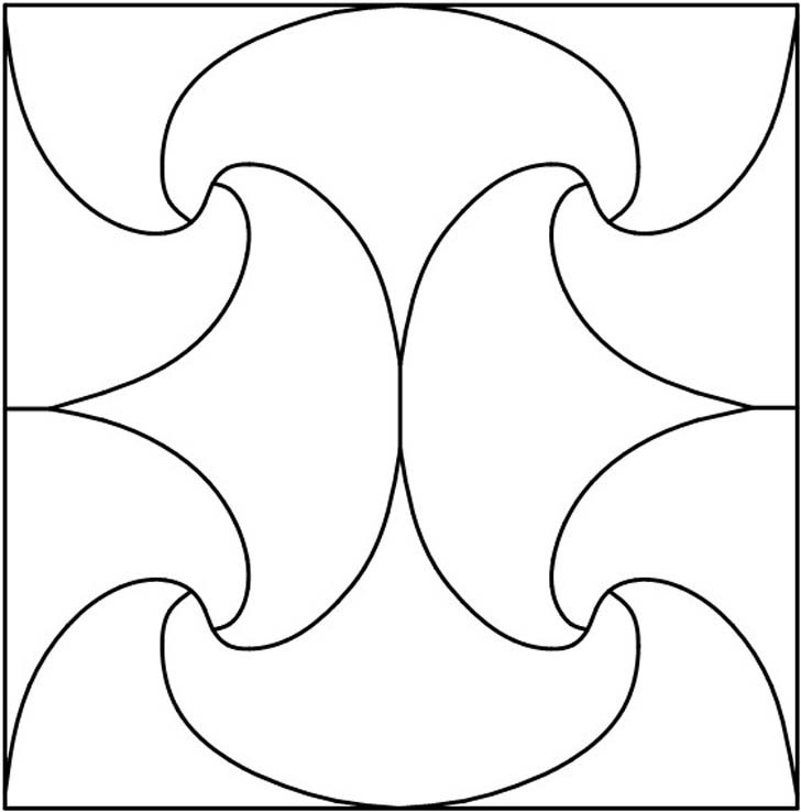 7 Images of Free Printable Stained Glass Patterns Geometric