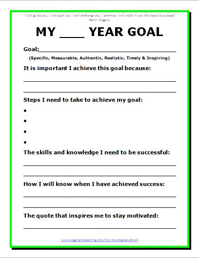 Printables Career Goal Setting Worksheet goal planning worksheet smart intrepidpath 9 best images of setting printable worksheet