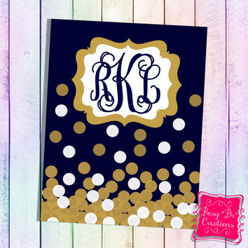 Gold Binder Cover Printable