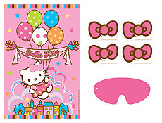 6 Images of Printable Hello Kitty Birthday Party Games