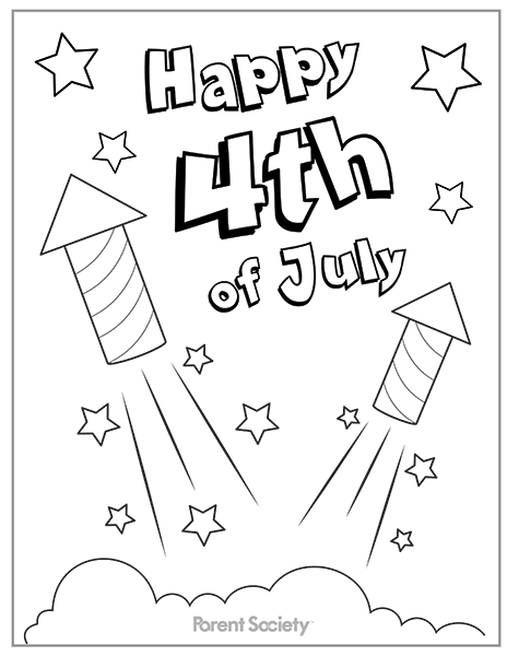 7 Best Images Of 4th Of July Coloring Printables Free - Free July 4th  Coloring Pages, 4th Of July Coloring Pages For Kids Printable And July 4th  Coloring Pages Printable Free / Printablee.com