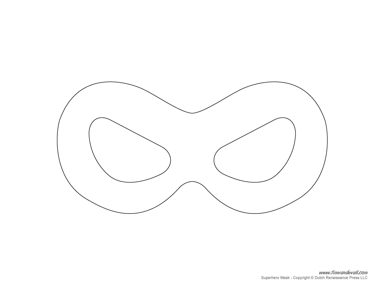 6 Images of Superhero Template Printable