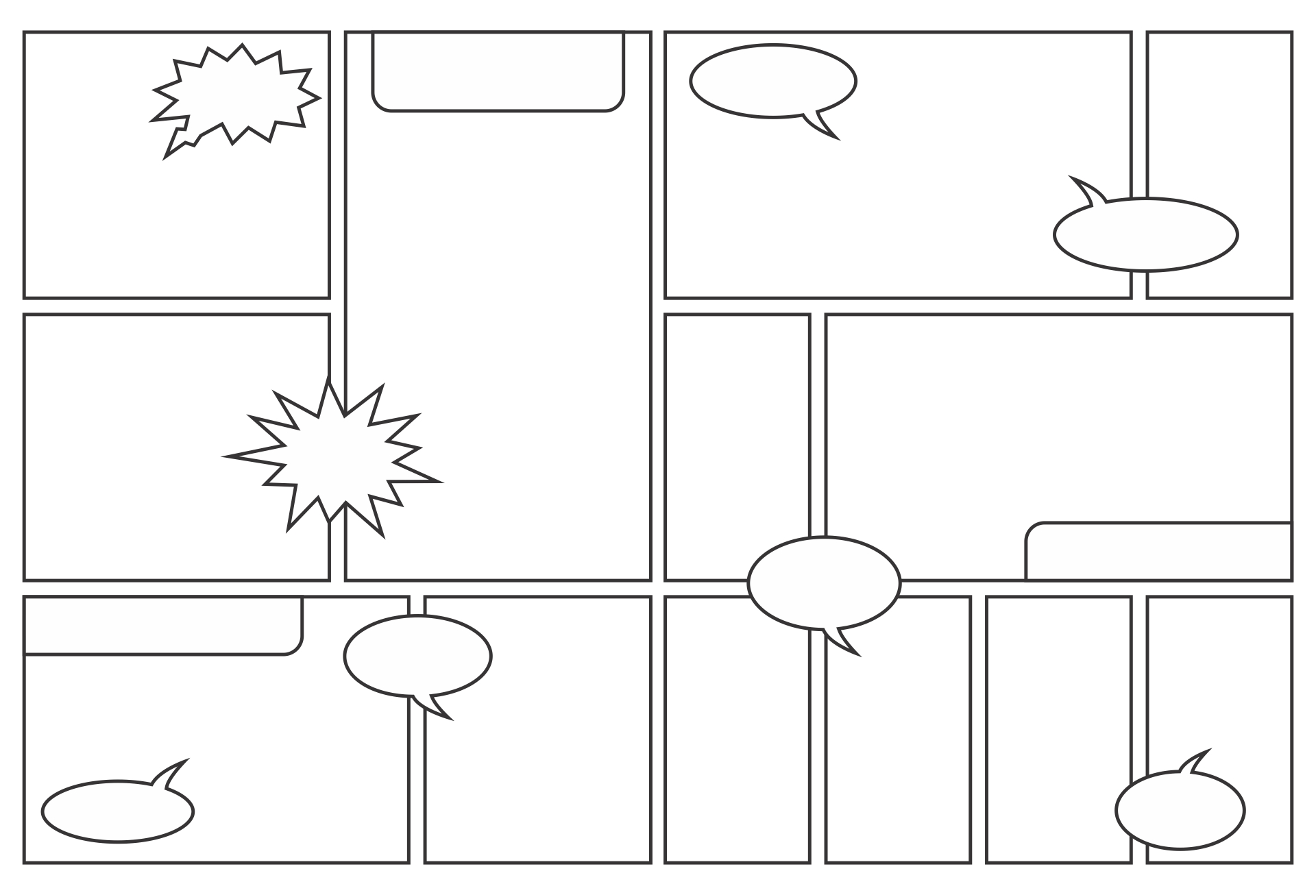 blank comic book panels templates printable blank comic book pages