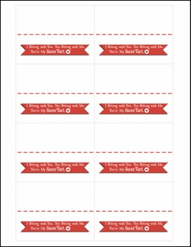 4 Images of Printable Valentine Candy Grams