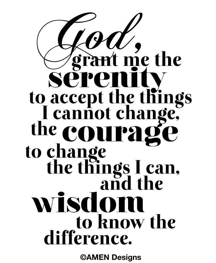 7 Images of Serenity Prayer Card Printable